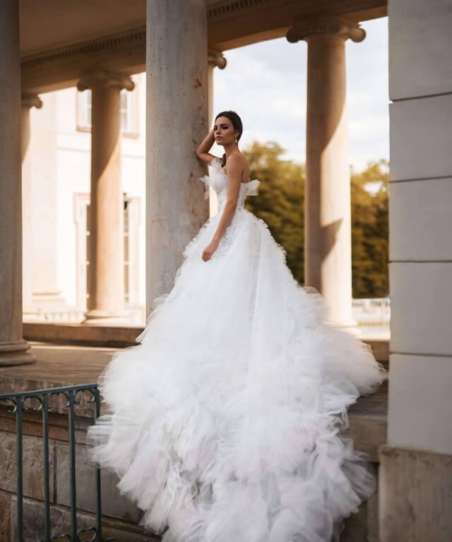 Winter wedding dresses Asta