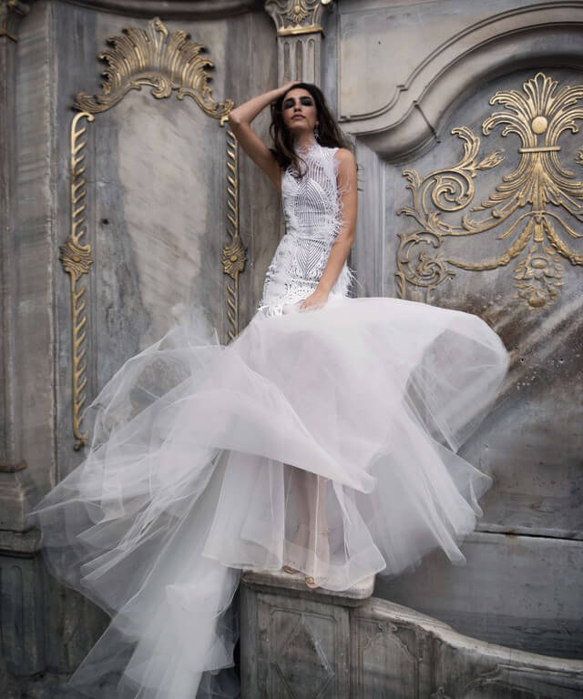 Transformer wedding dress Bjer