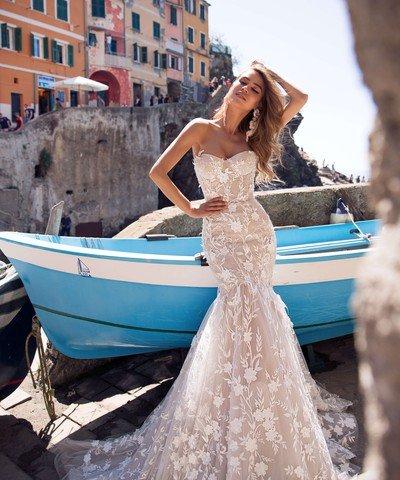 Свадебное платье рыбка Bonita