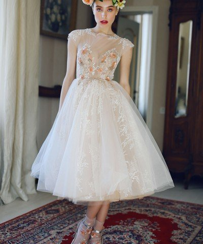 Short wedding dresses Fibi