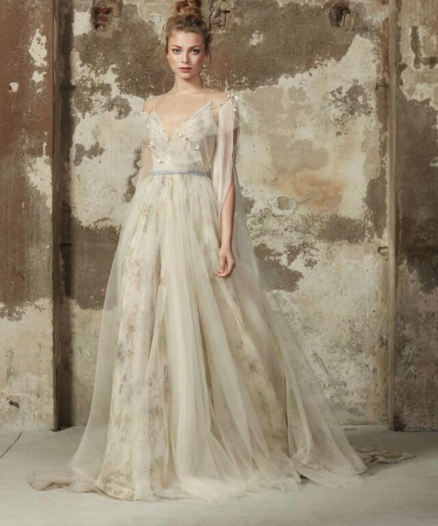Свадебное платье в стиле рустик Delvin