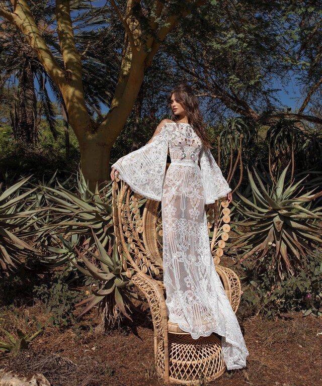 Прямые свадебные платья Elmut
