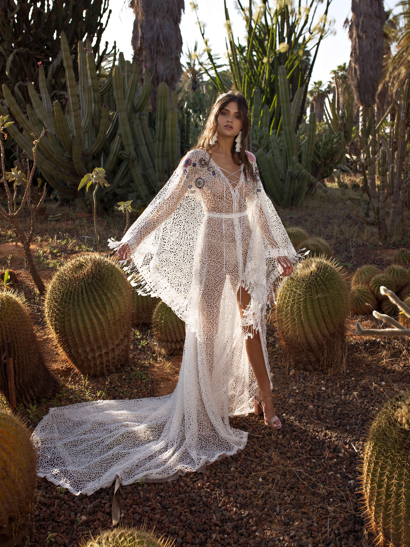 Свадебное платье в стиле бохо Freida от Rara Avis