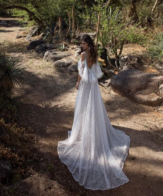 Свадебное платье в стиле рустик Haniel