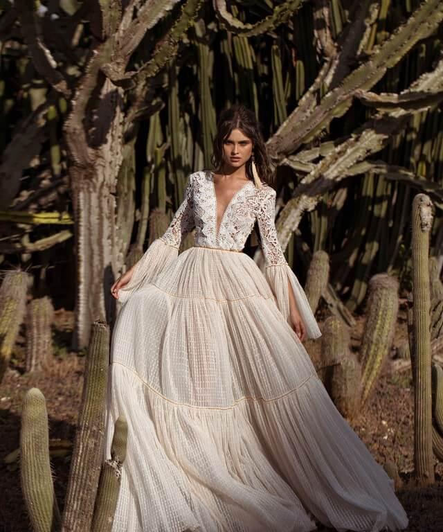 Boho Wedding Dresses Hori