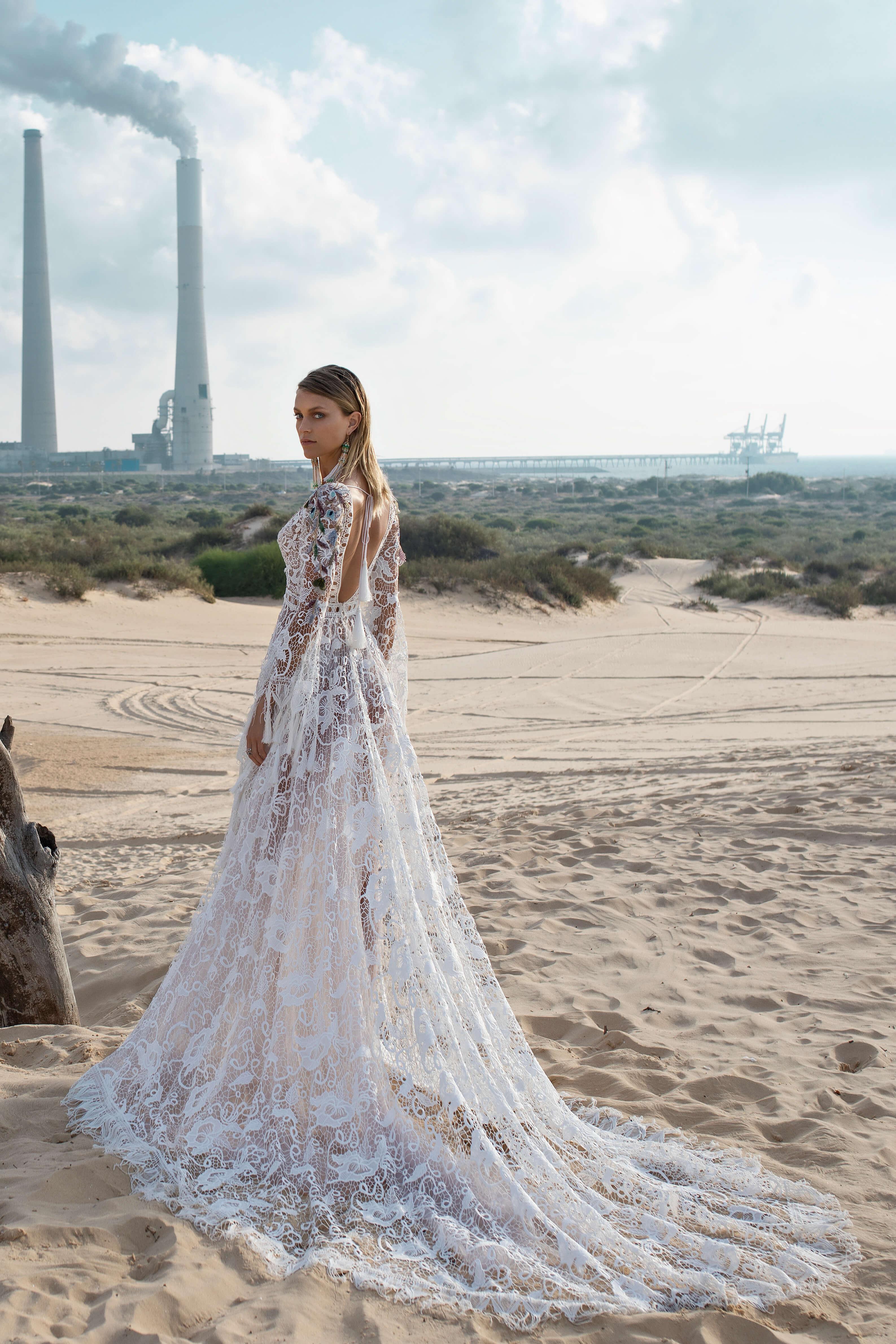 Свадебное платье в стиле бохо Kortal от Rara Avis