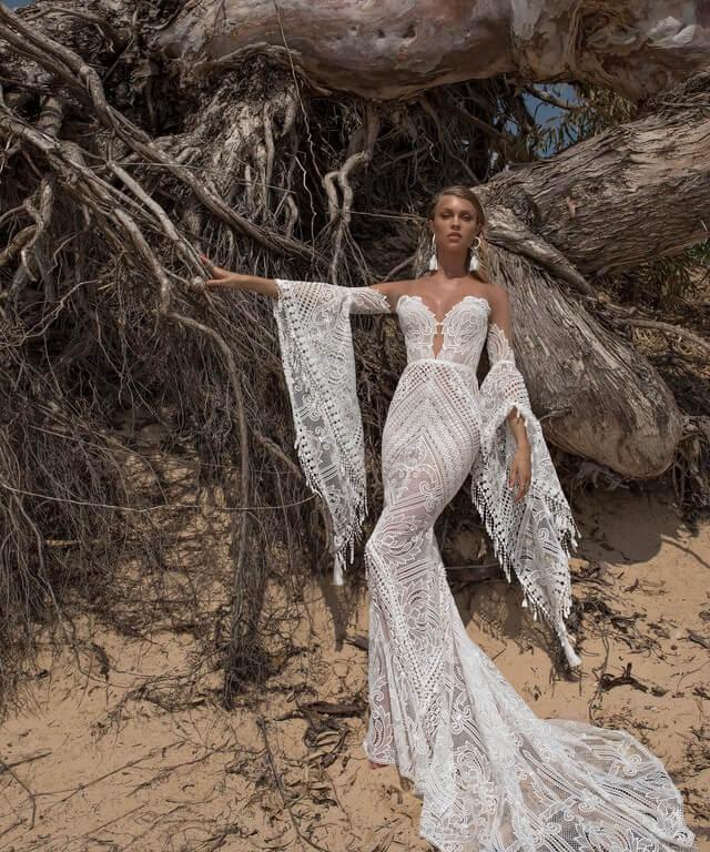 Boho Wedding Dresses Lari
