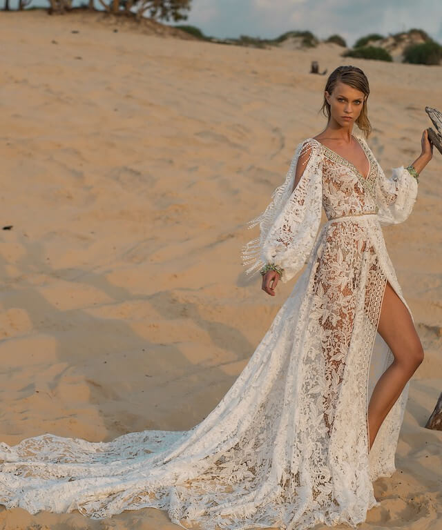Transformer wedding dress Omrish