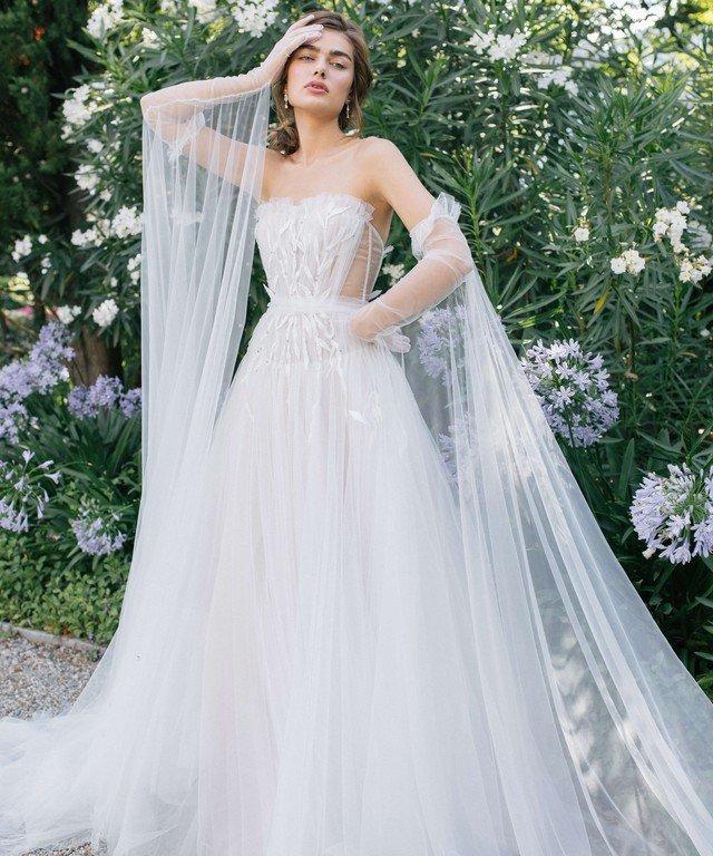 Летние свадебные платья Anasteisha
