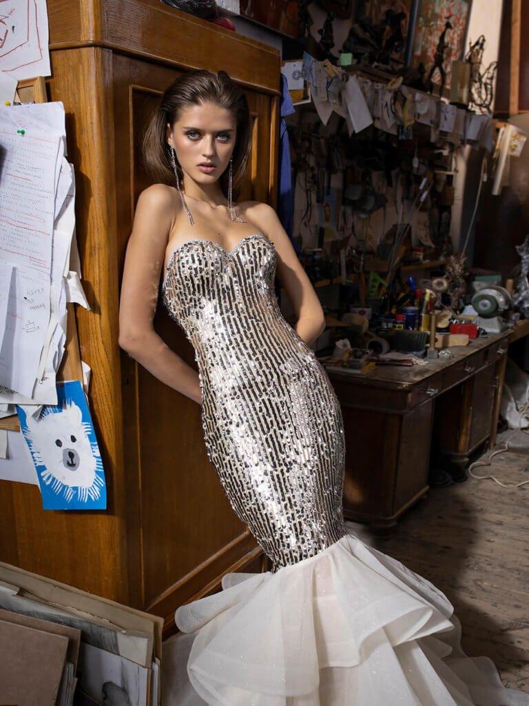 Платье «рыбка» Chessa