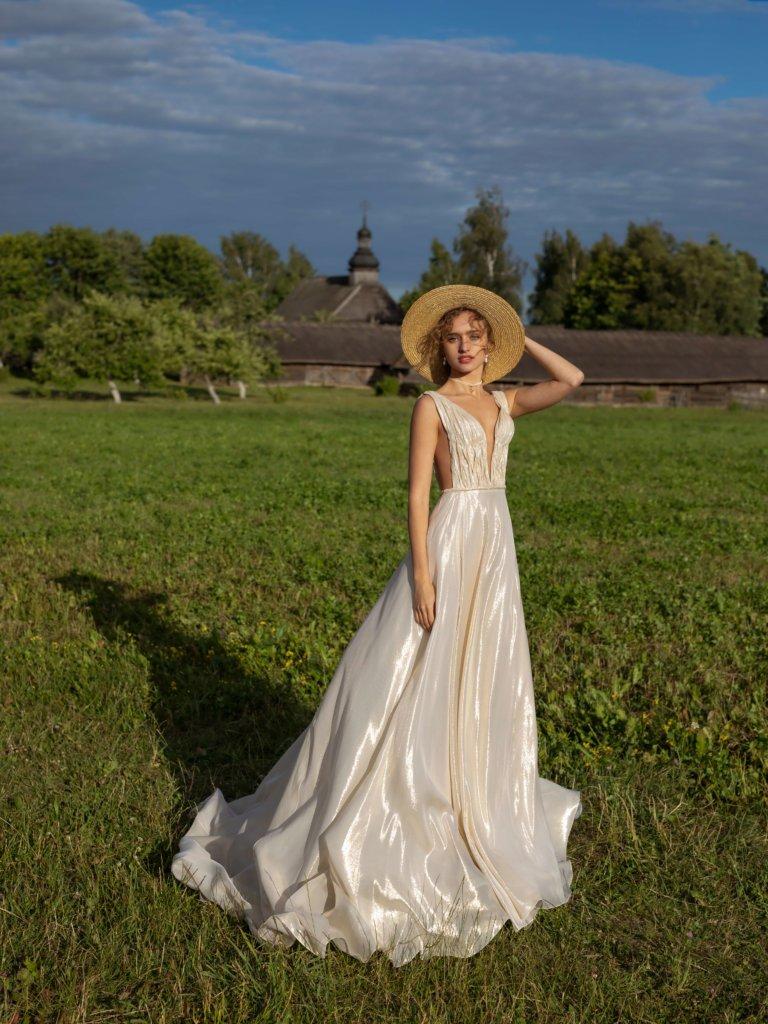 Свадебное платья в греческом стиле Garda