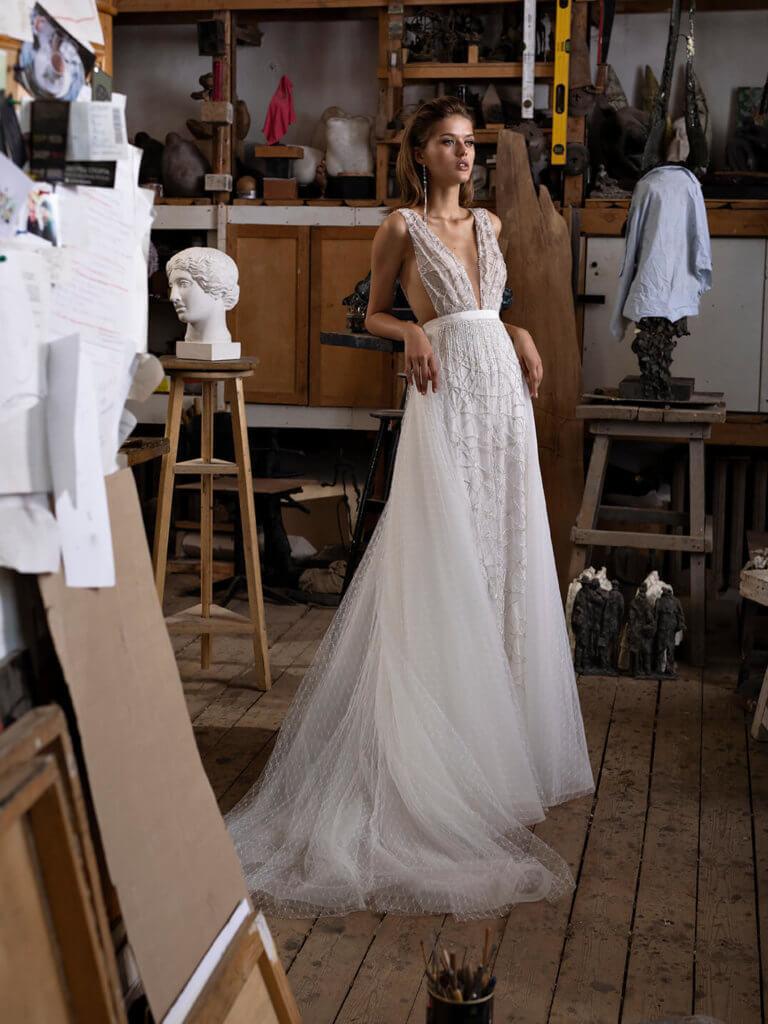 Свадебное платья в греческом стиле Limia