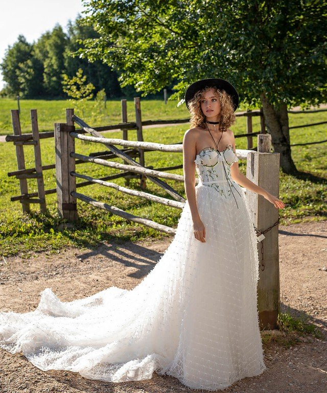 Платья Wedding Bloom Linnet+ Riva body