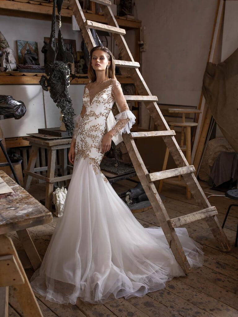 Платье «рыбка» Pleiferi