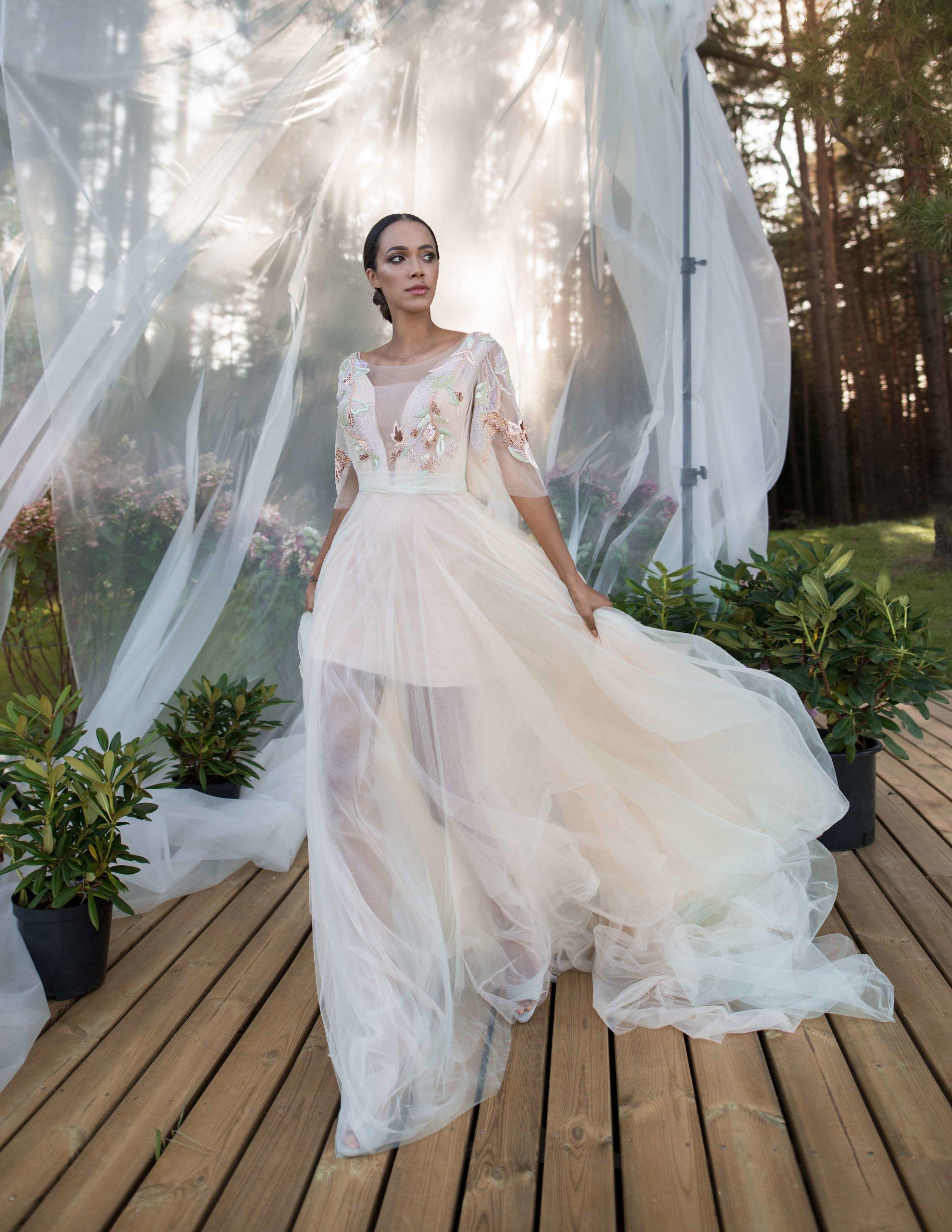 Бальное свадебное платье Poul от Rara Avis