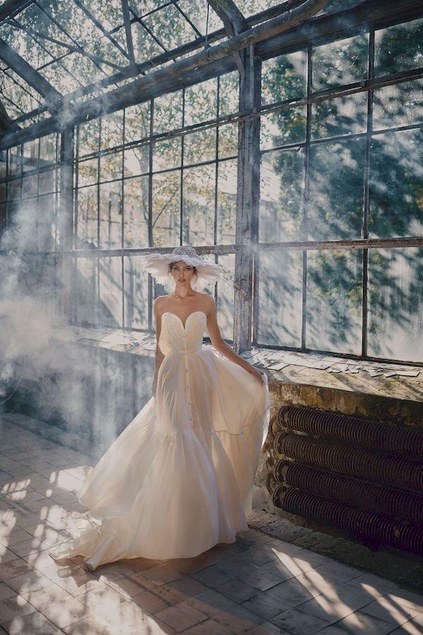 Свадебное платье в стиле рустик Elen