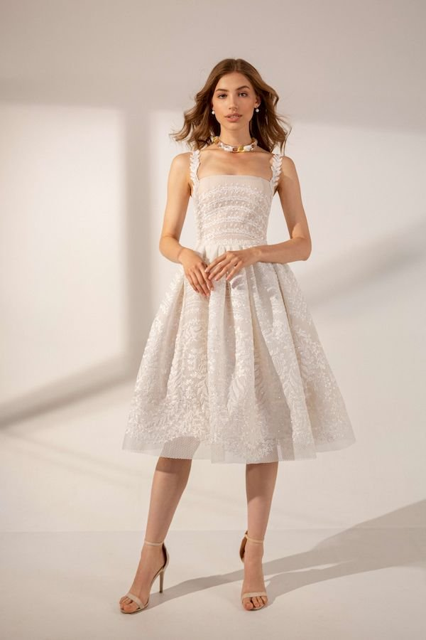 Short wedding dresses Zarina