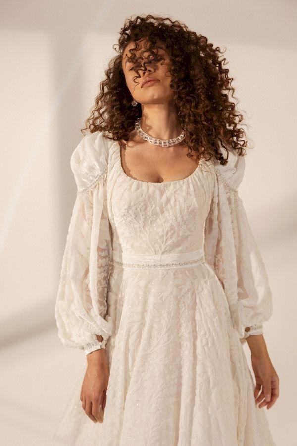 Свадебное платье в стиле рустик Julianna